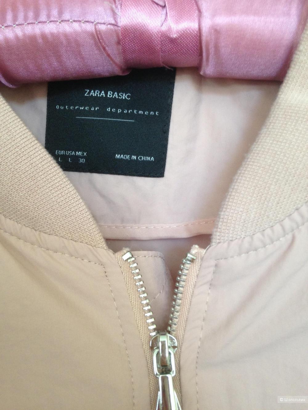 Бомбер Zara 46-48 (L)