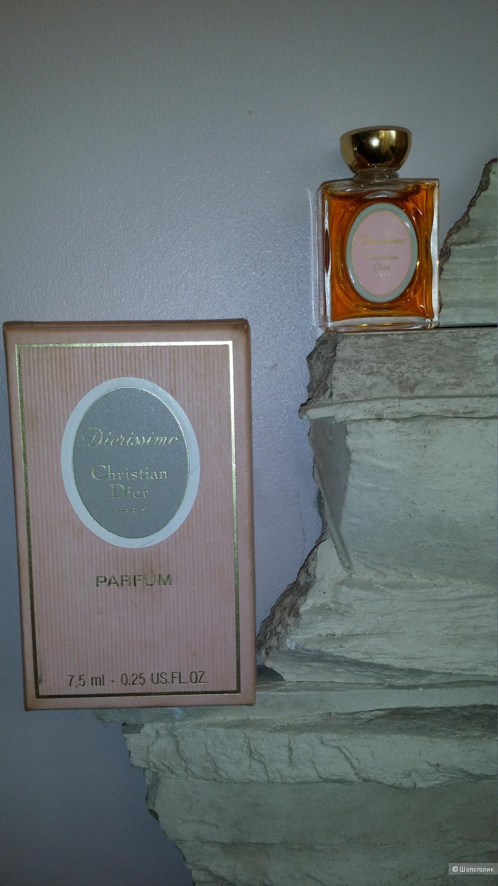 Духи винтажные Christian Dior Diorissimo 7,5 мл