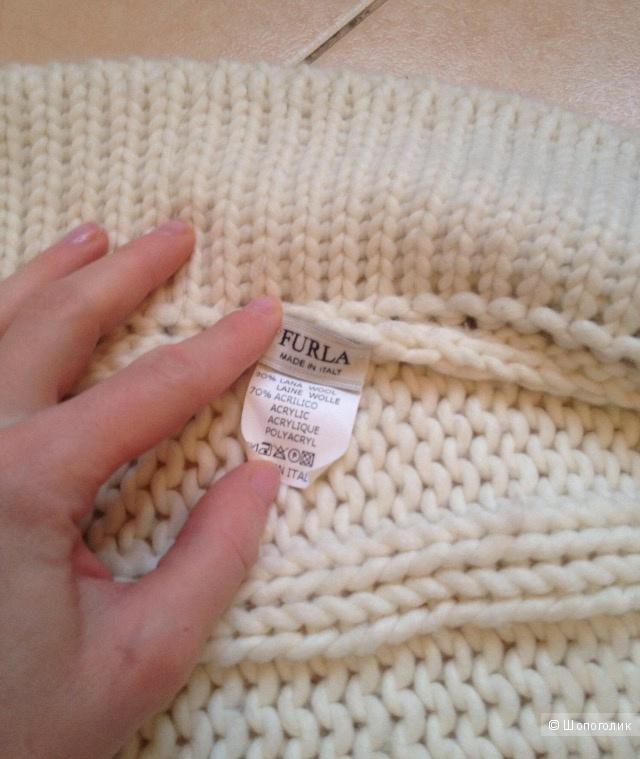 Свитер-накидка Furla one size