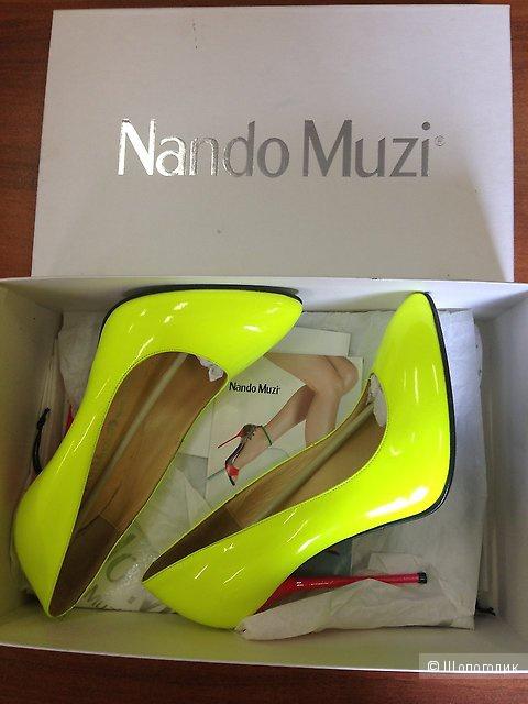 Туфли Nando Muzi размер 39 (на российский 38-38,5)
