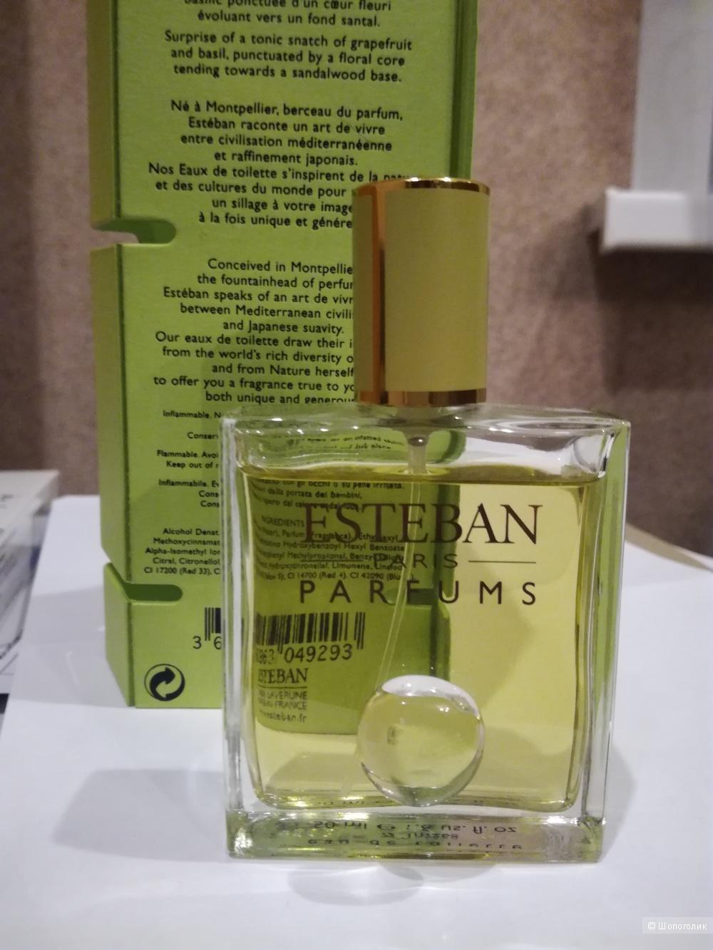 Туалетная вода Tempête de Zeste, Esteban Parfums 50 мл.