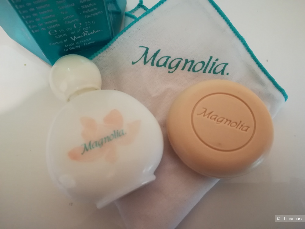 Набор из 3х предметов Magnolia Yves Rocher