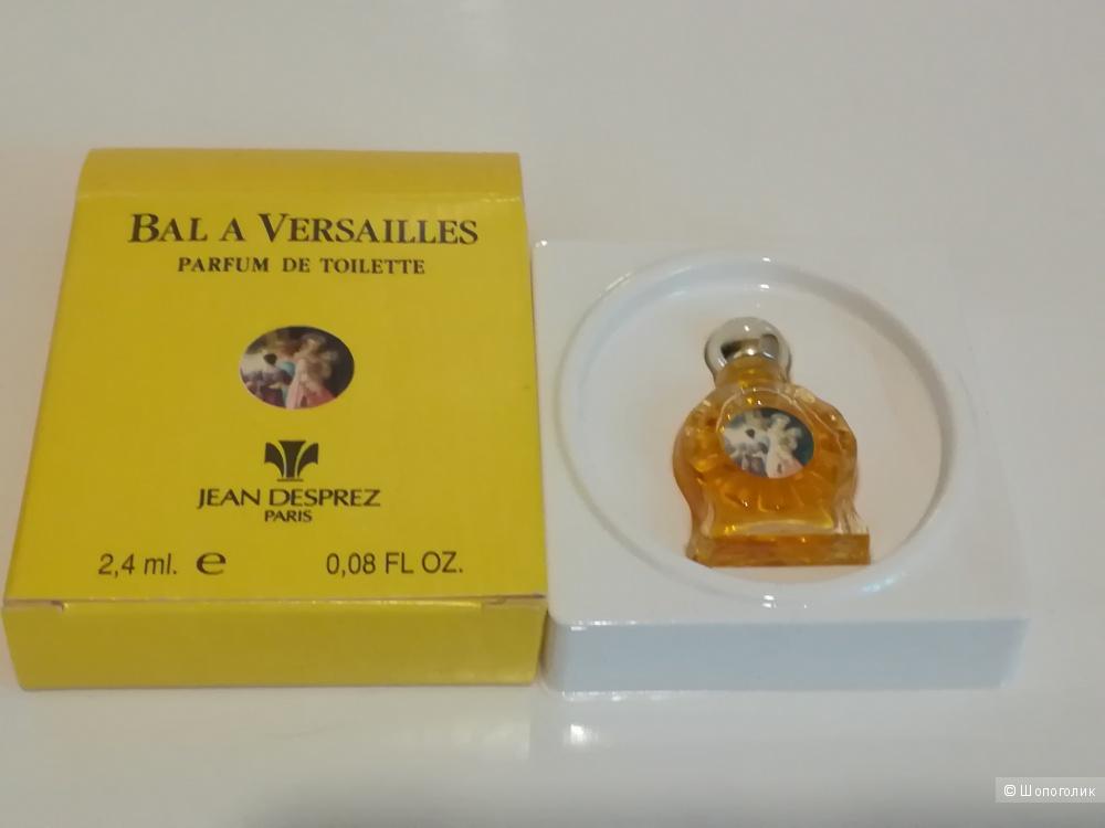 Миниатюра - Bal à Versailles Jean Desprez 2,5 мл