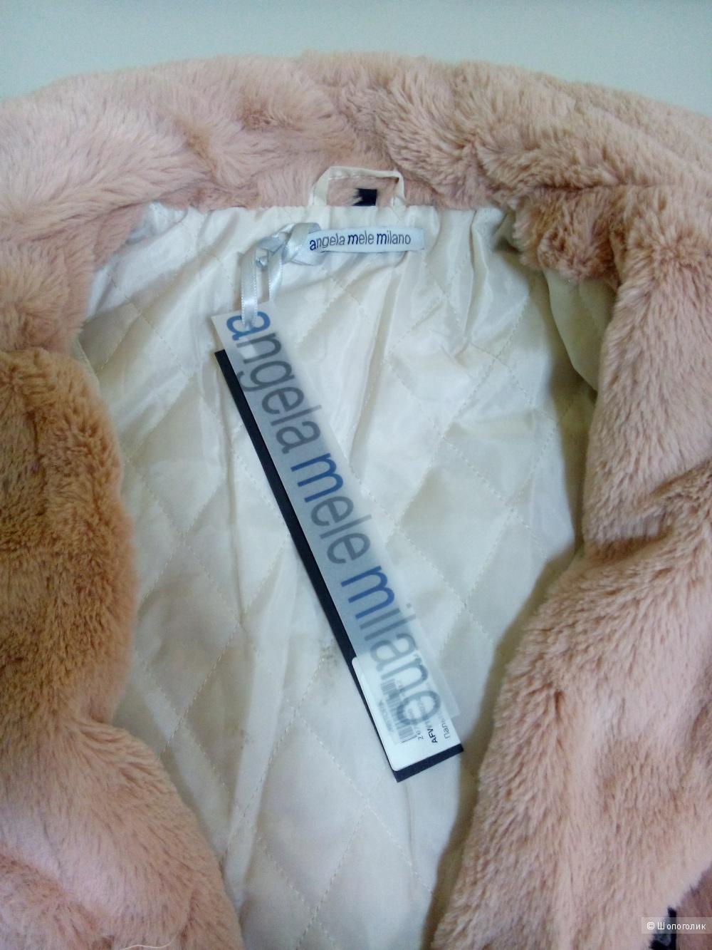 Пальто-шубка Angela Mele Milano размер M.