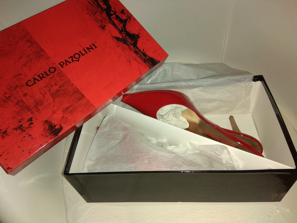 Туфли = босоножки Сarlo Pazolini, размер 39
