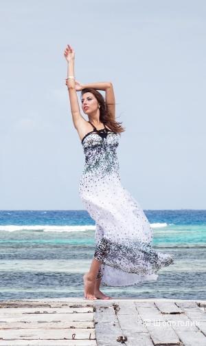 Шифоновое платье SEAM размер 42