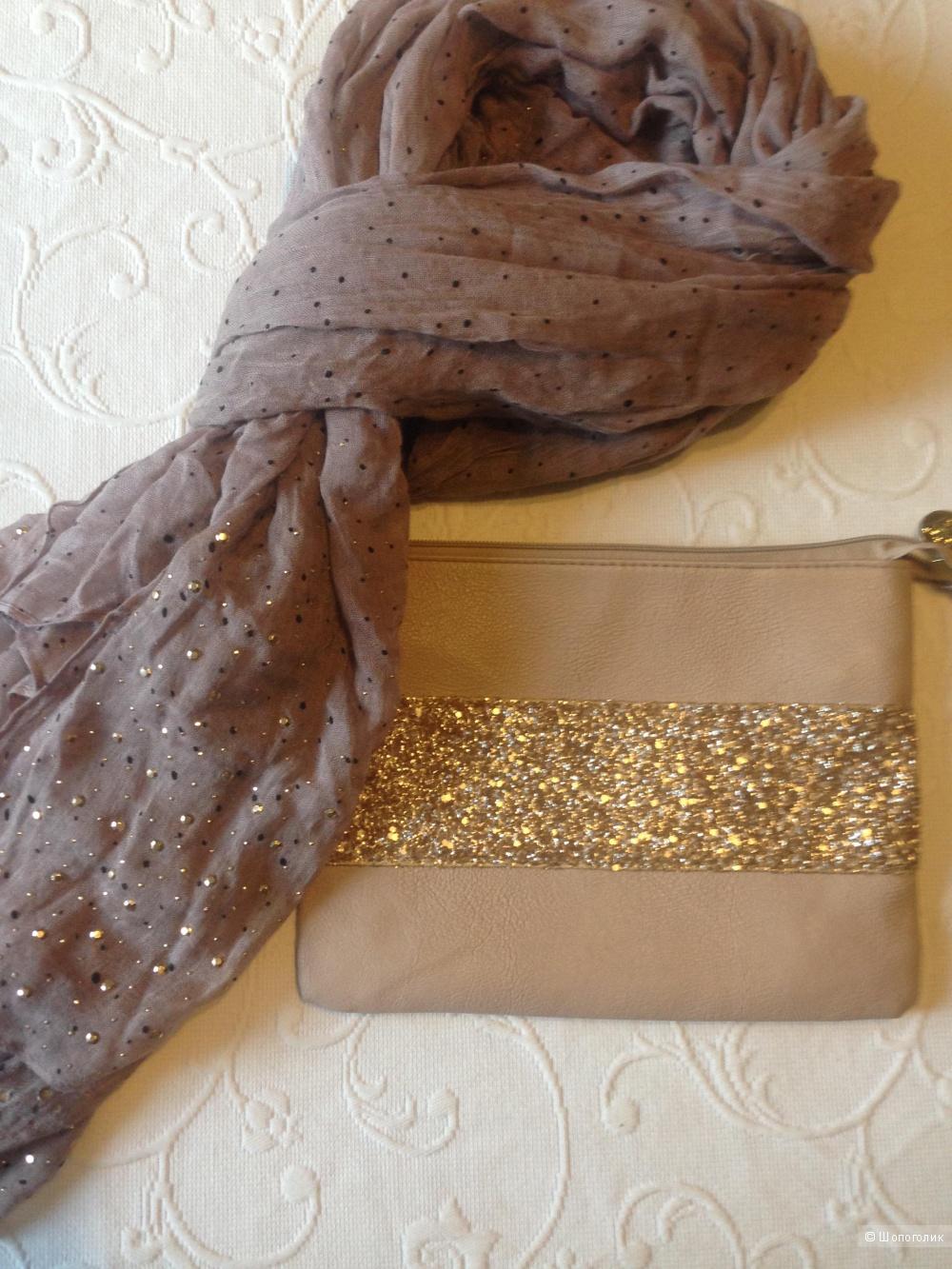 Комплект клатч и шарф-палантин Dorothy Perkins