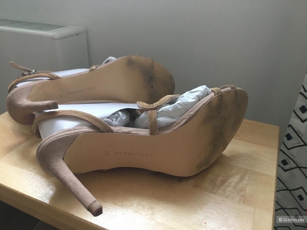 Босоножки Zara Woman 37 размер