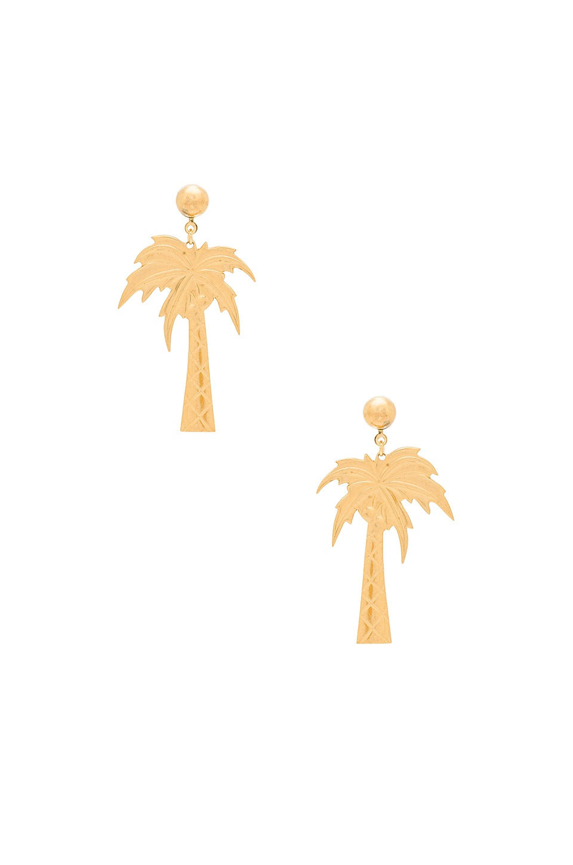 Серьги  PALM BEACH