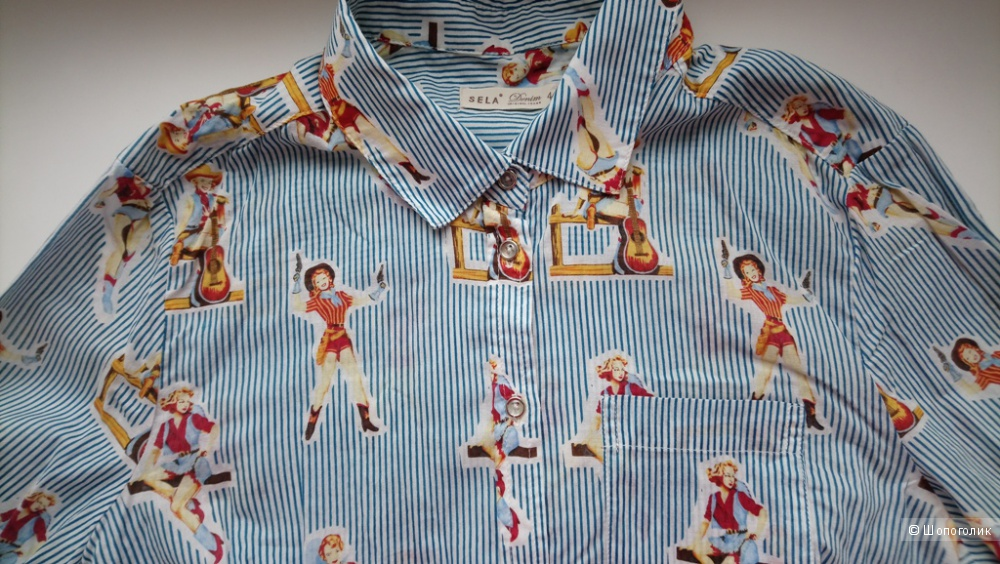 Рубашка Sela, юбка Modis, р-р 42-44