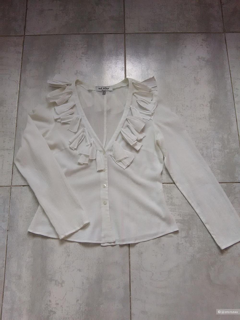 Блузка из марлевки DI PIU, размер 44/46 рос