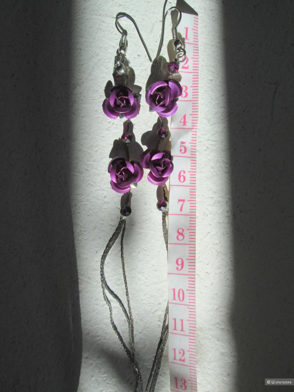Серёжки `~ кисти  No name 14 см.