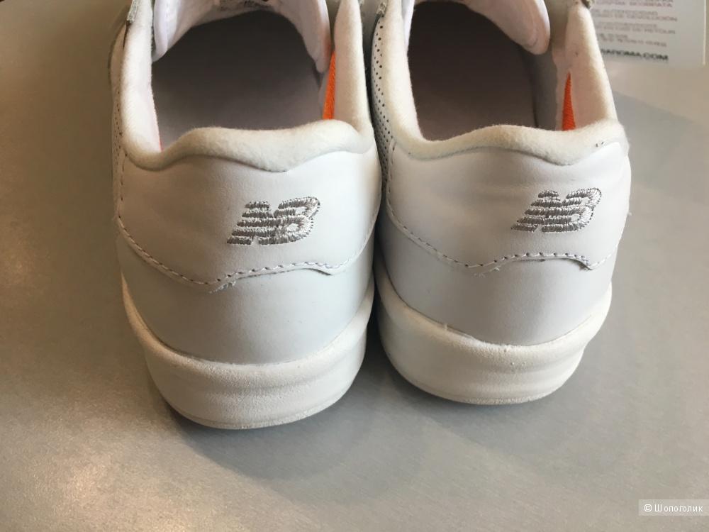 Женские кожаные кроссовки NEW BALANCE, 38,5EUR/6US/5,5UK. По стельке 24,5 см