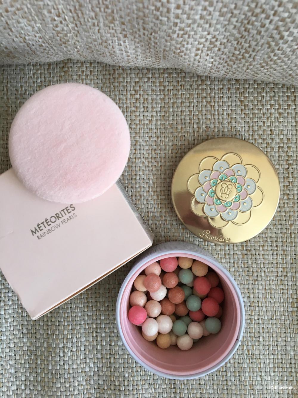 Пудра в шариках Guerlain Meterites rainbow pearls
