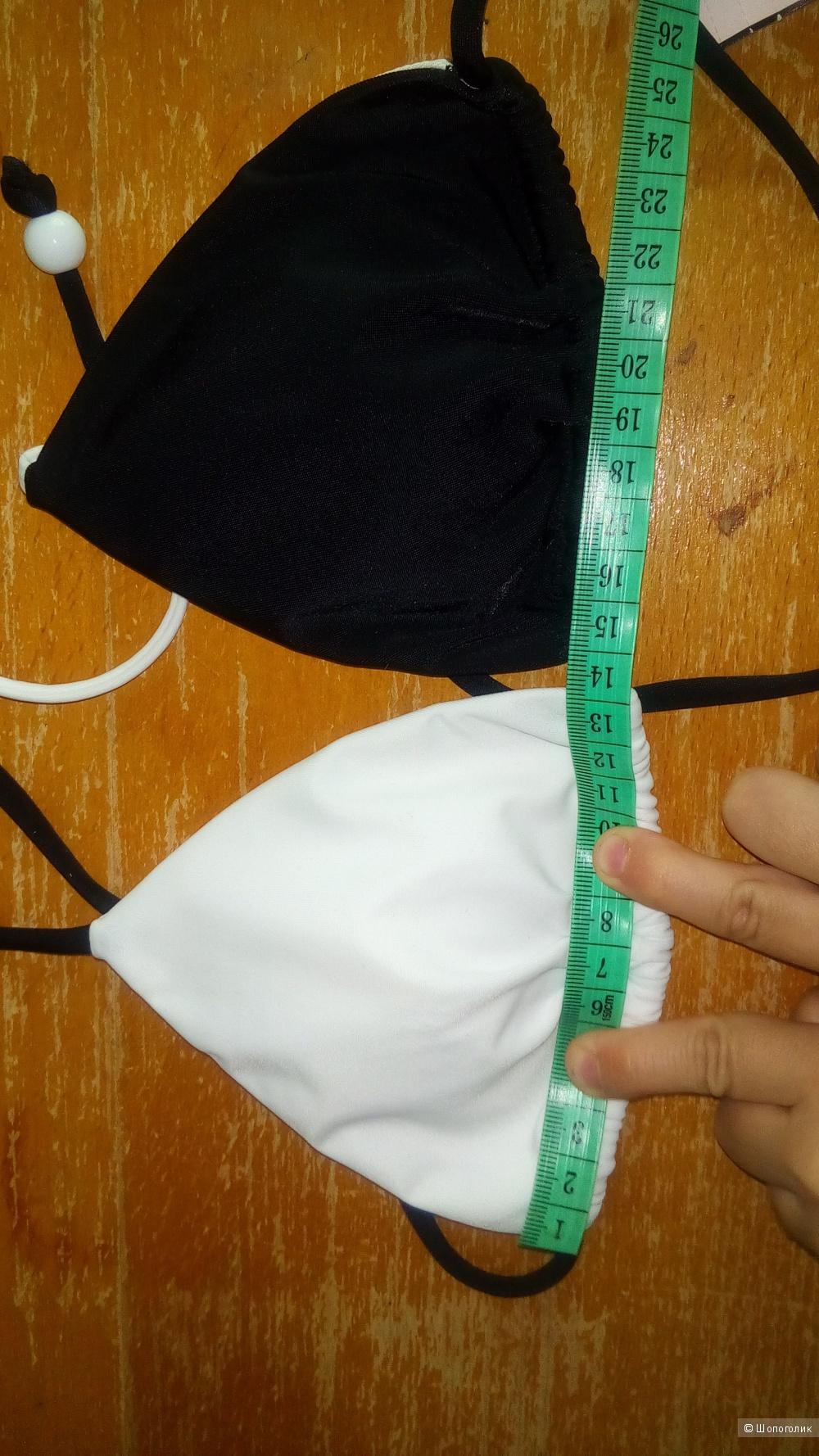 Купальник White/ Black(E26) XS+XS Victoria's Secret