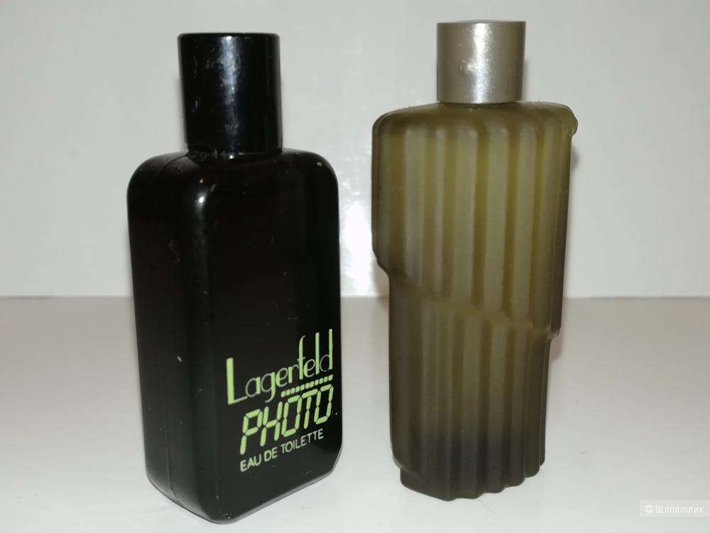 Cет 2 миниатюры - Photo Karl Lagerfeld 4,5 мл- Montana Parfum 4,5 мл.