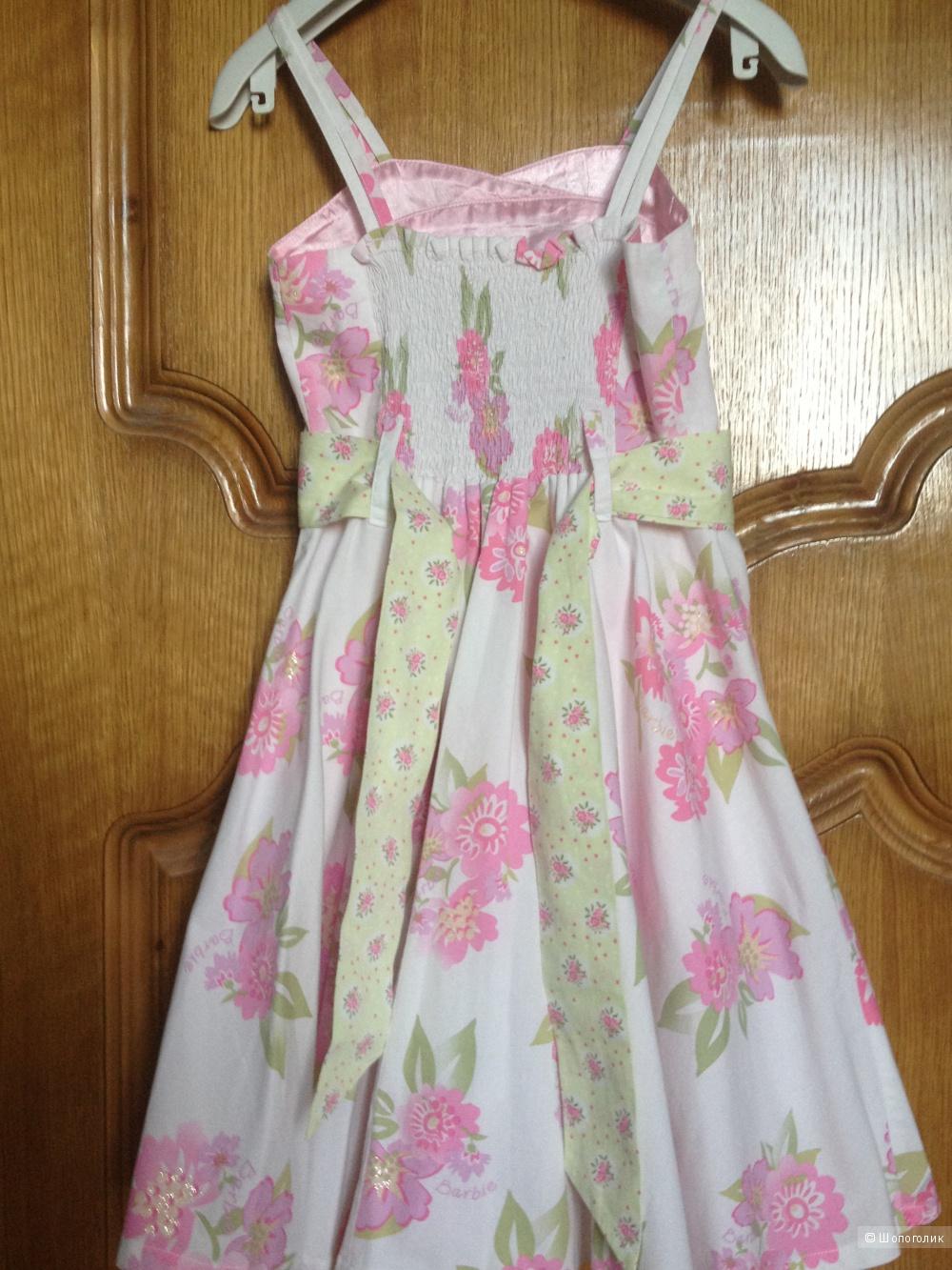 Платье ф.Barbie 128 разм