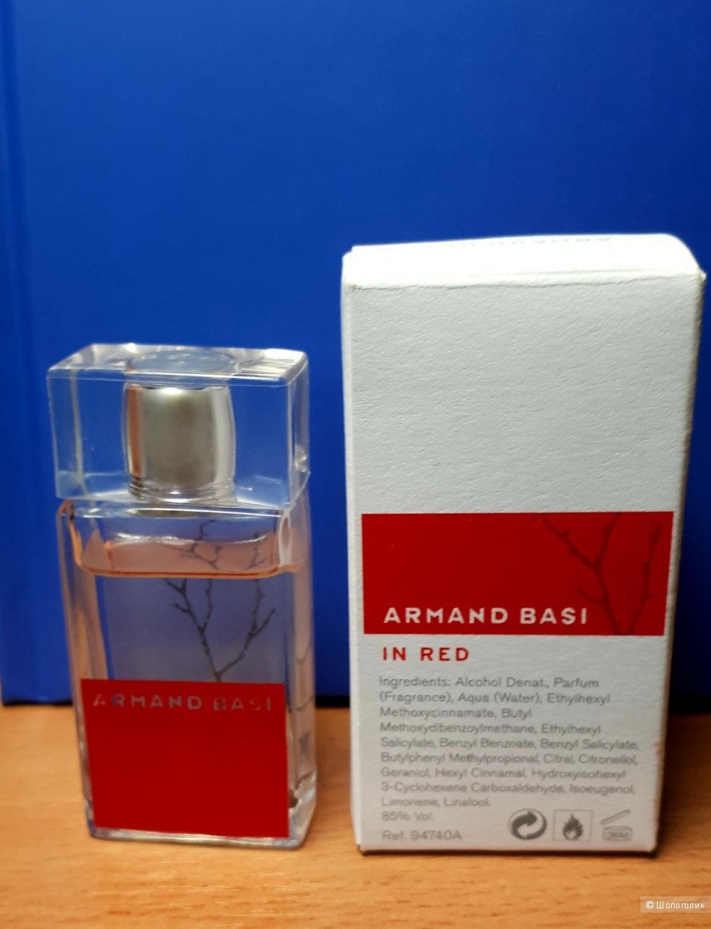 Миниатюра аромата IN RED от Armand Basi, 7 мл