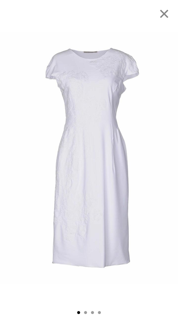 Платье , ERMANNO SCERVINO , размер 46 (44 it ).
