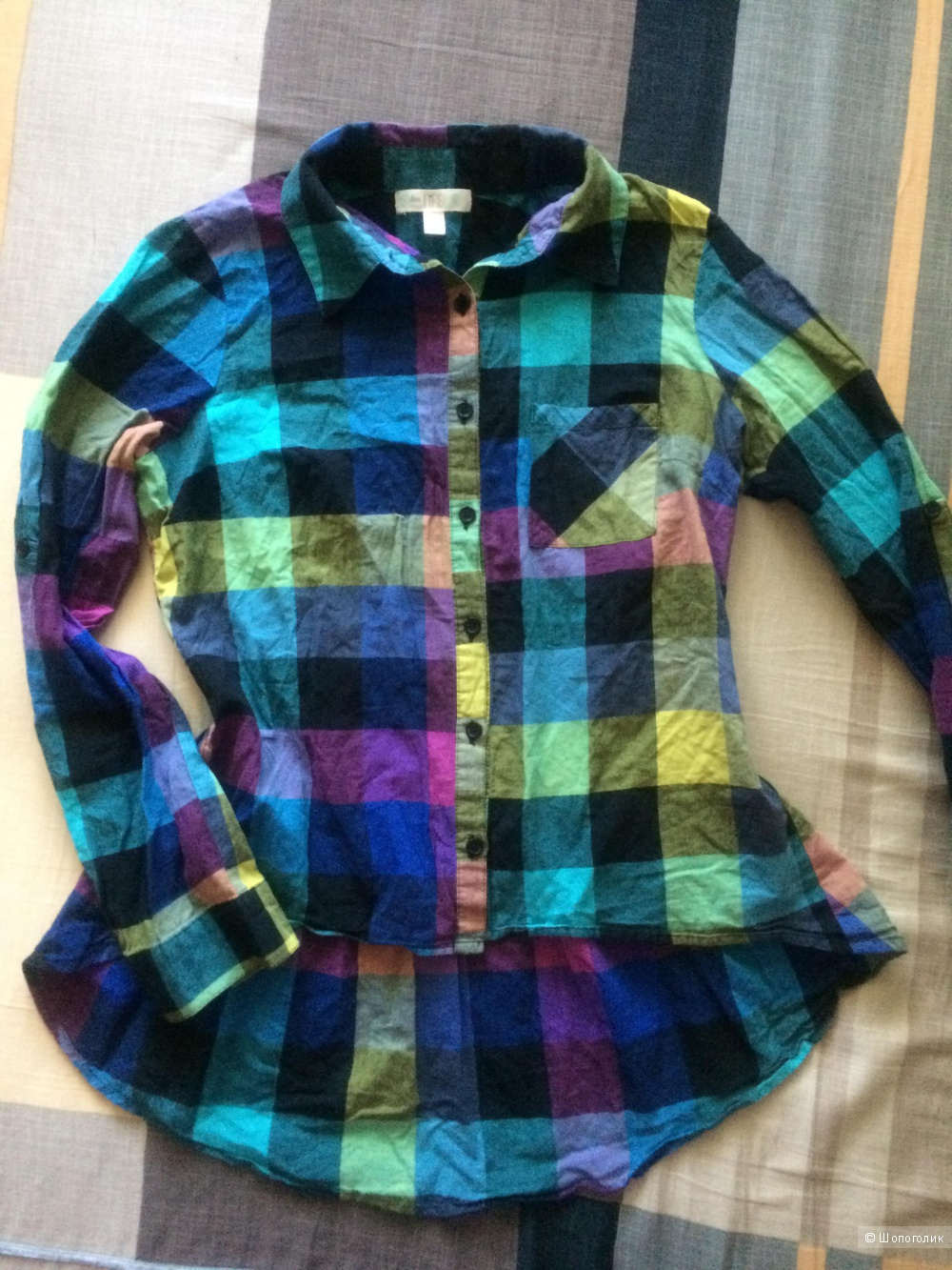 Блузка-рубашка LOVE FIRE размер 46