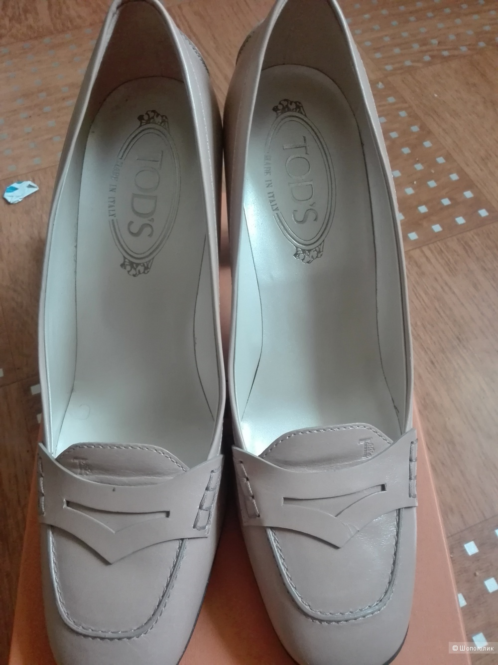 Туфли Tod's 38,5 размер