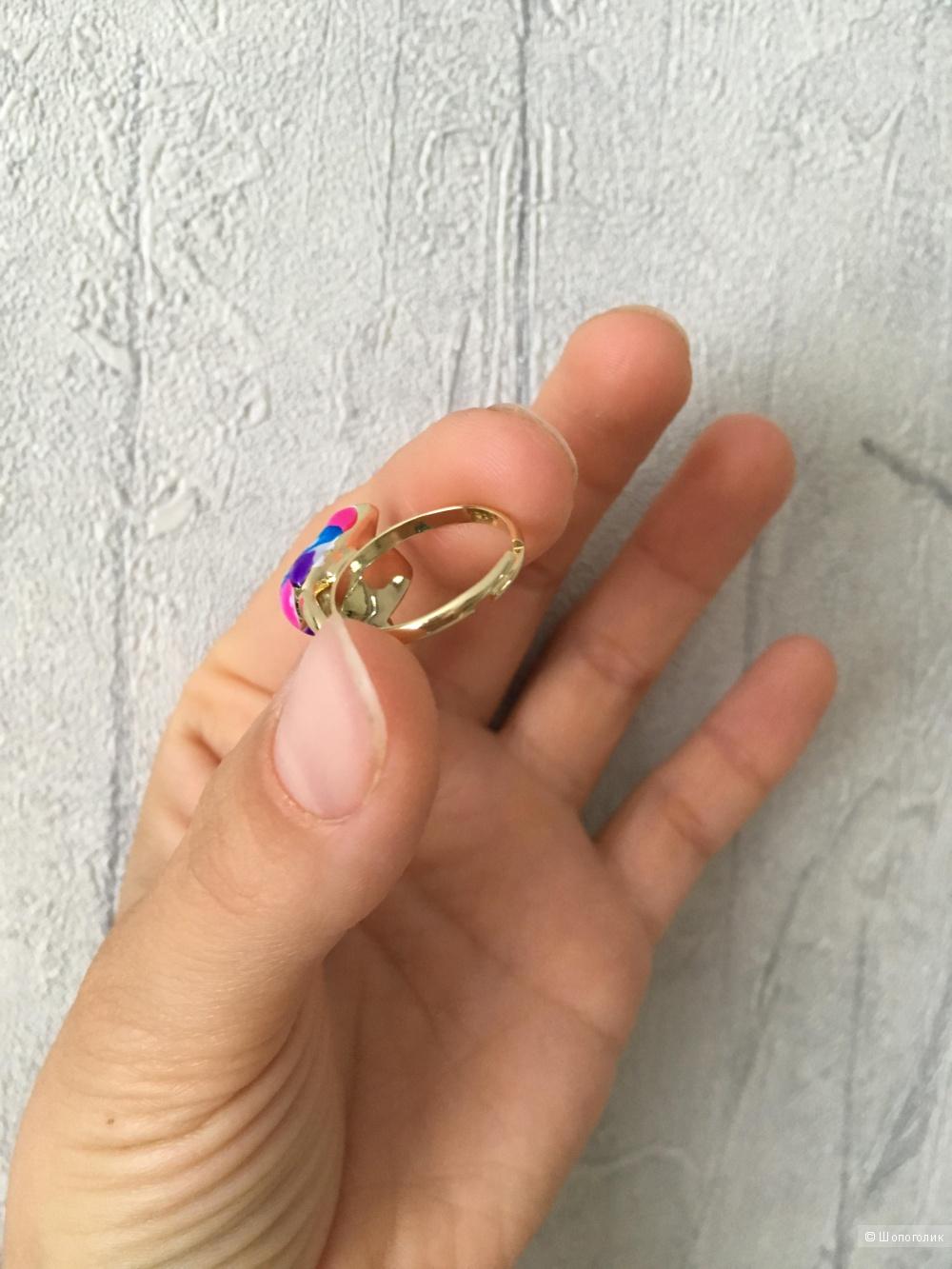 Комплект серьги и кольцо one size