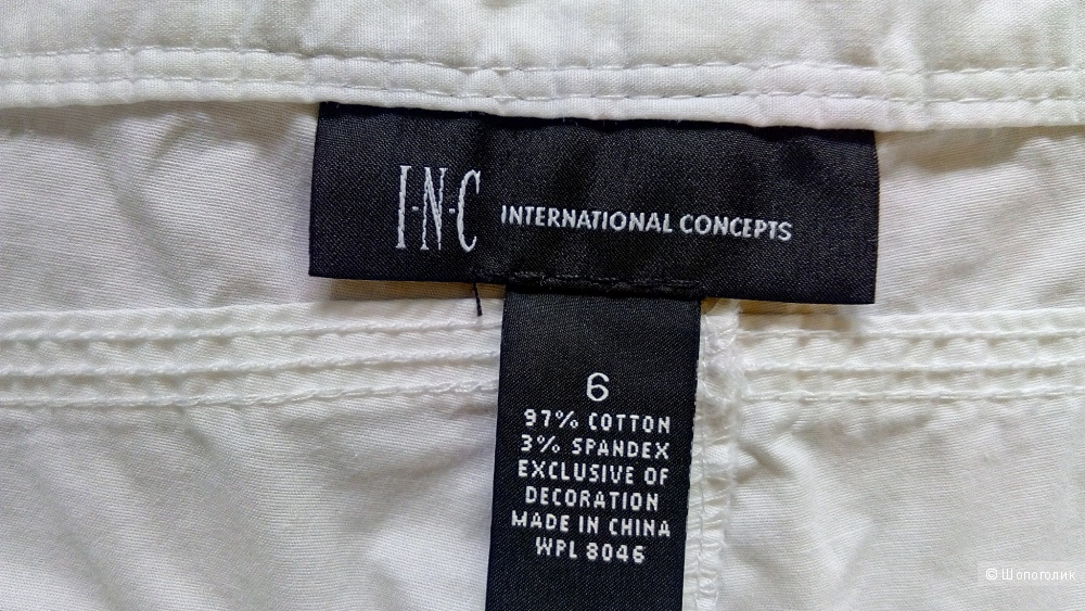 Капри карго I.N.C., размер 6