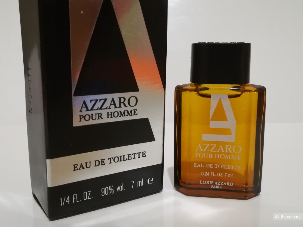Миниатюра - Azzaro pour Homme Azzaro 7 мл.