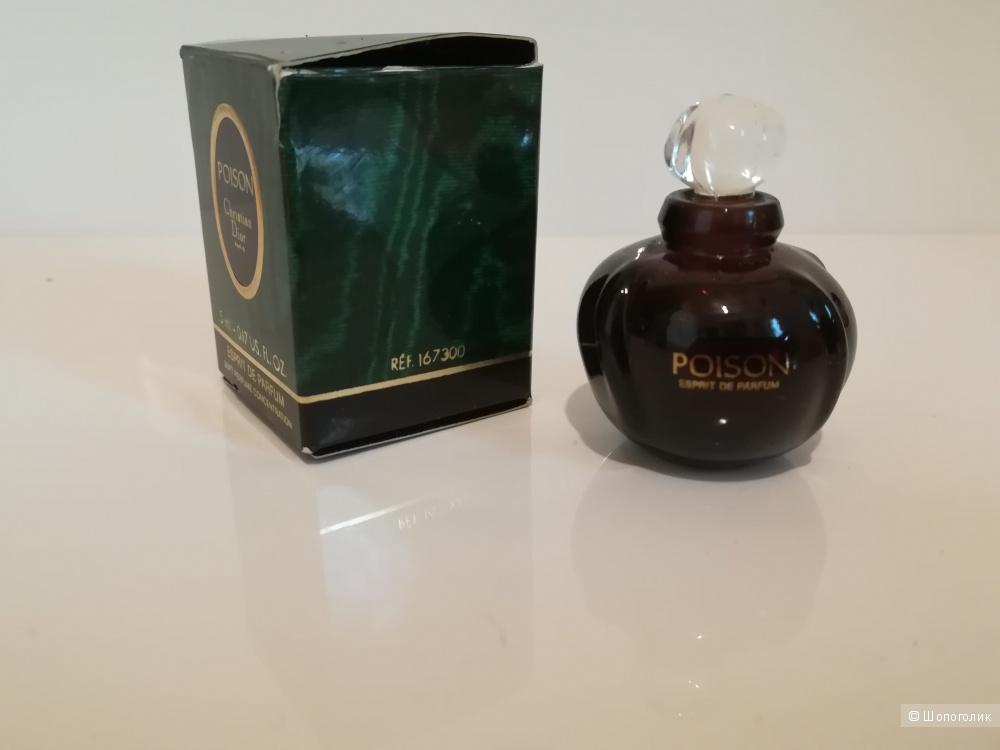 Миниатюра - Poison Esprit de Parfum Christian Dior 5 мл.