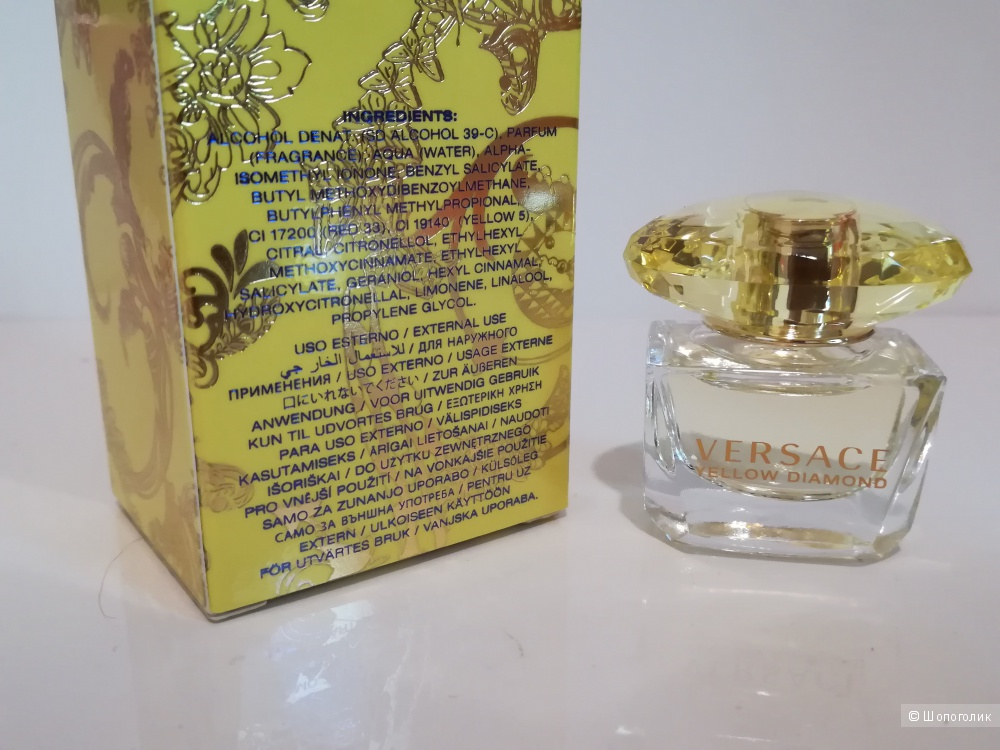 Миниатюра - Yellow Diamond Versace 5 мл.