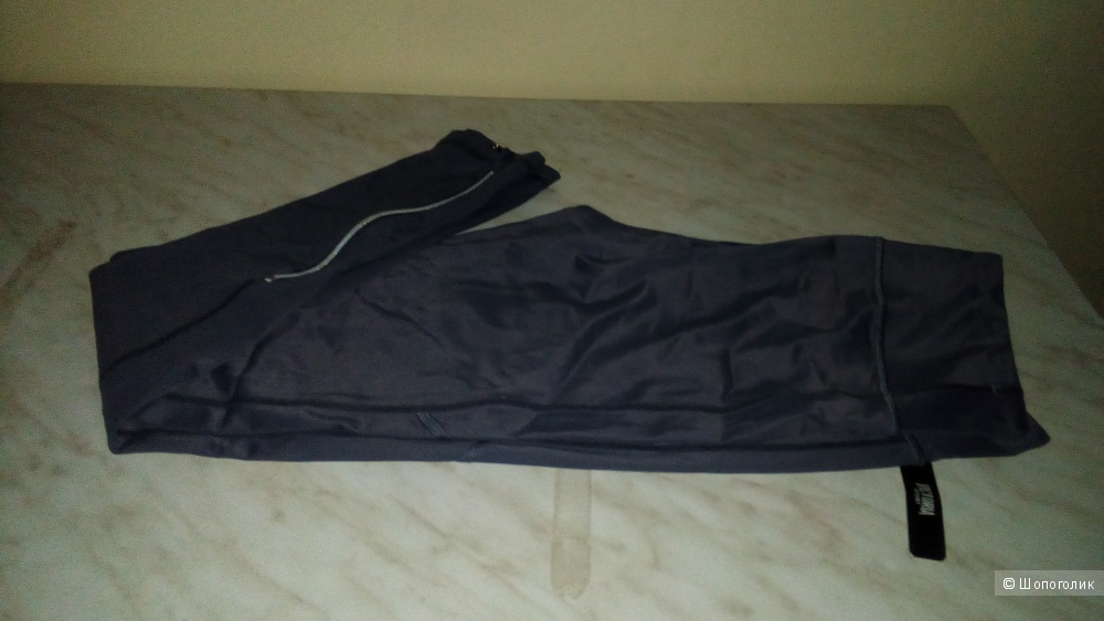 Спортивные леггинсы VS размер S Black Pearl/Ankle Zip (HE7)