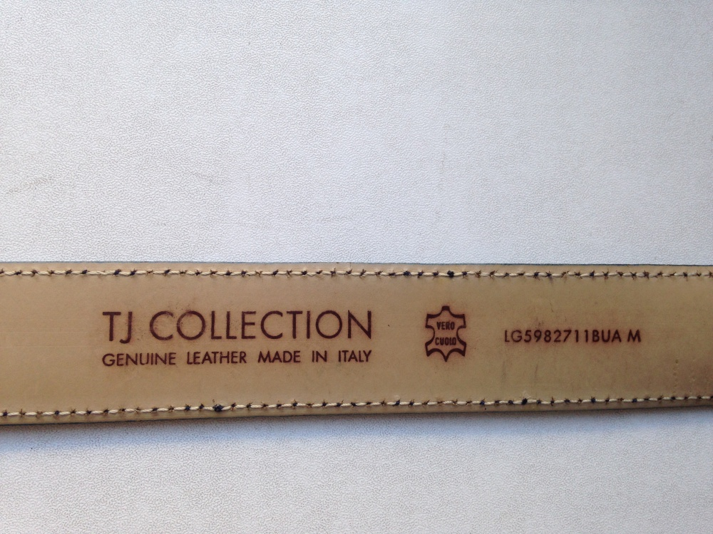 "Ремень "" TJ Collection "", размер М."