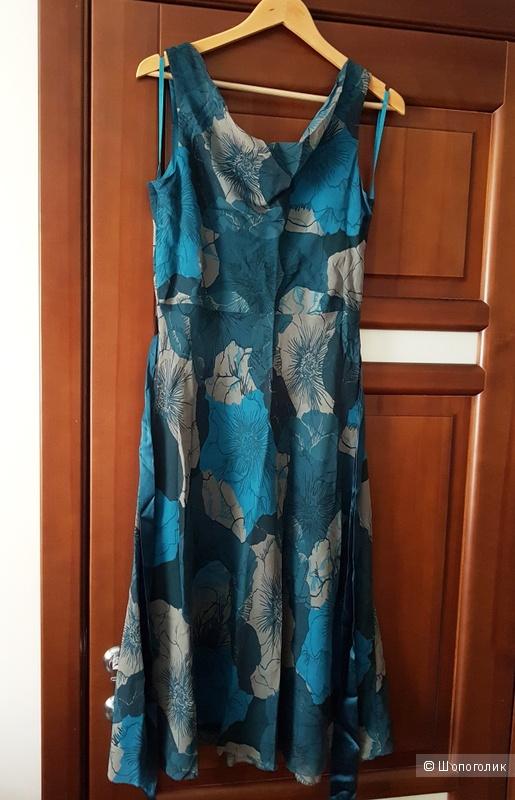 Шелковое платье Banana Republic 8US (44-46)