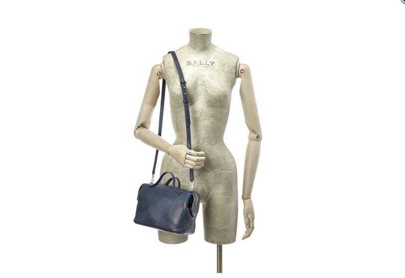 Bally Alaria - сумка женская на длинном плечевом ремне, small.