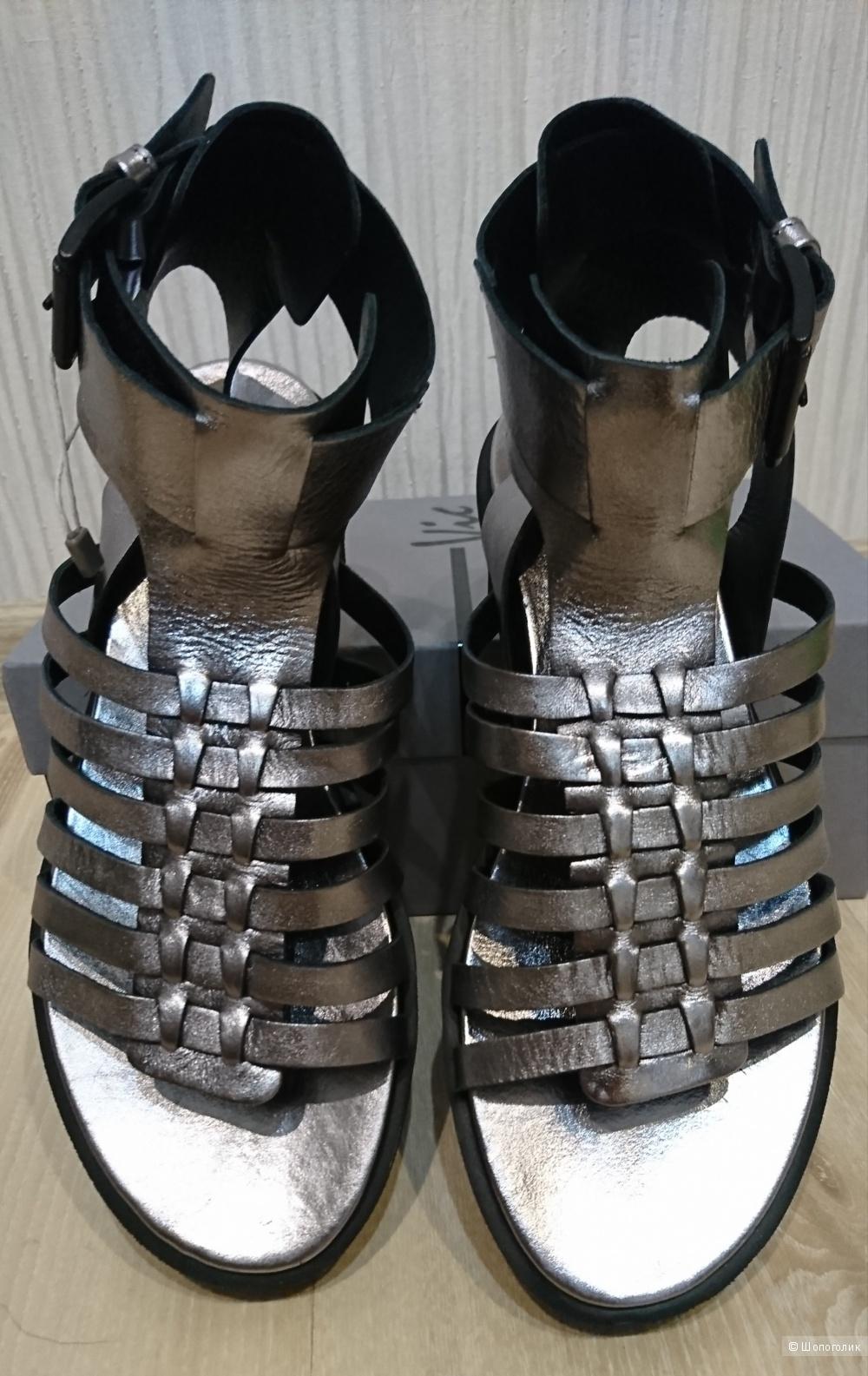 Кожаные сандалии Vic, 39 размер