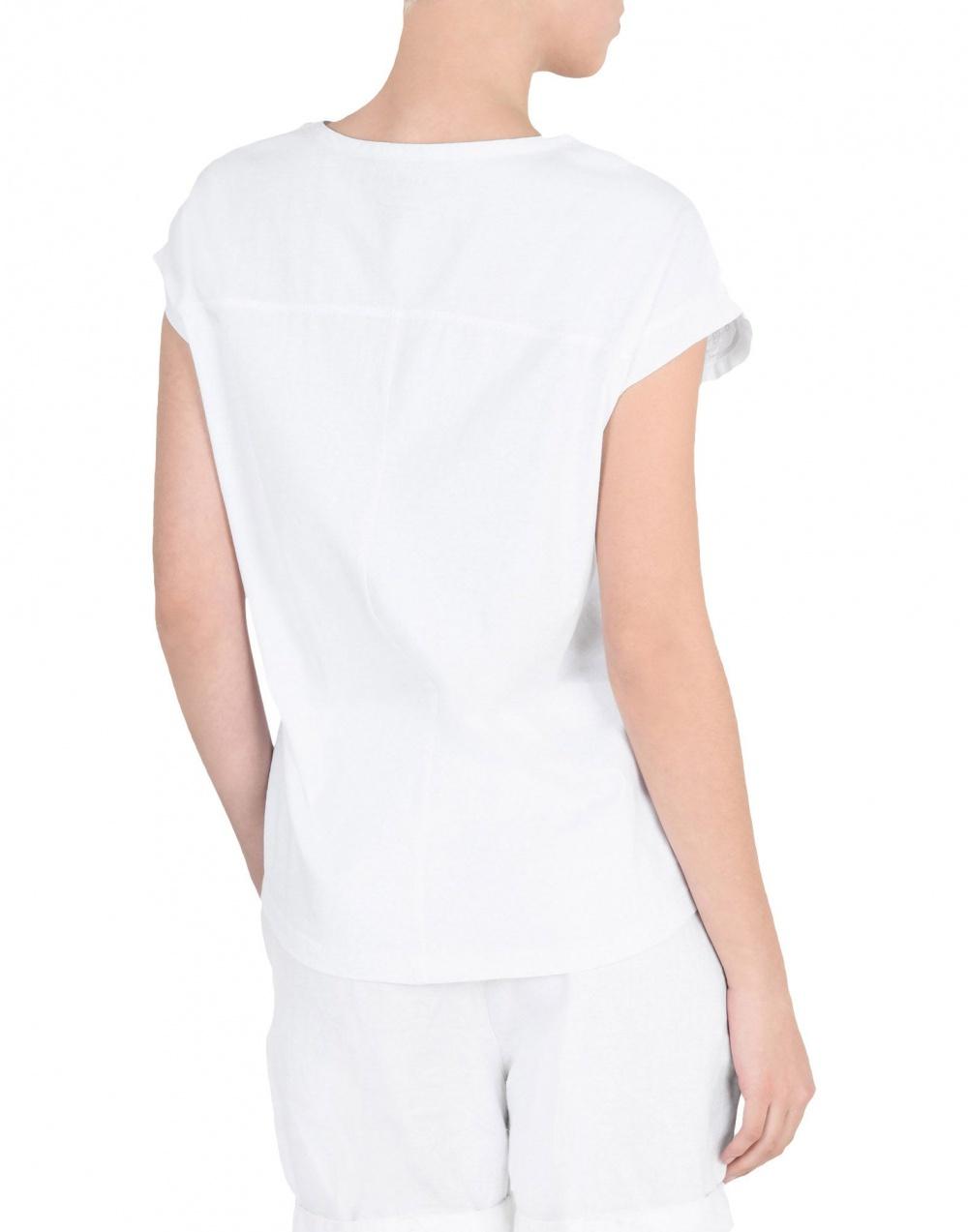 Блузка с шитьем NAPAPIJRI, XL (Международный Размер). На рос. 50-52