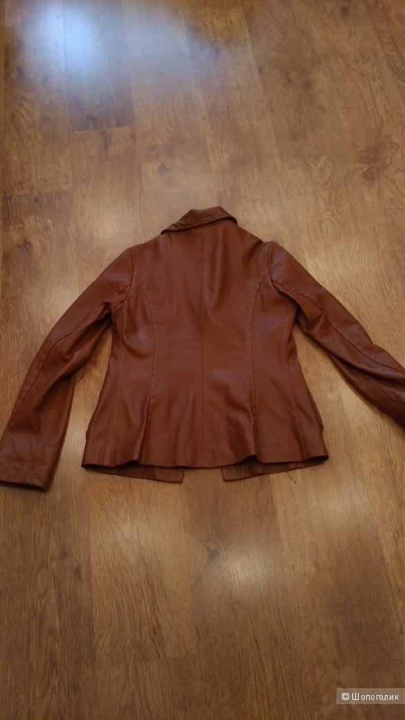 Куртка натуральная кожа AC Vitagliano р. 46