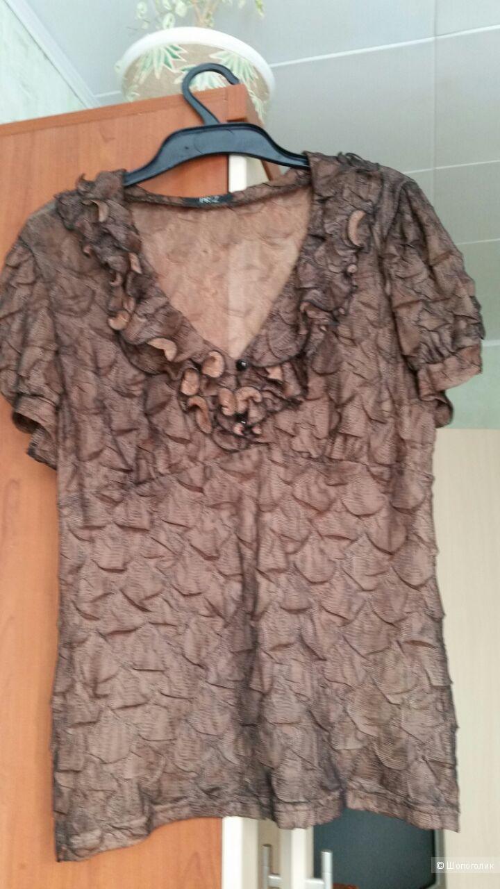 Блузка PRIZ, размер 46-48.