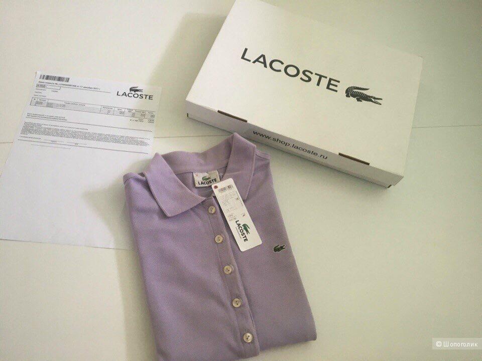 Поло, кофта Lacoste размер 42-44, S