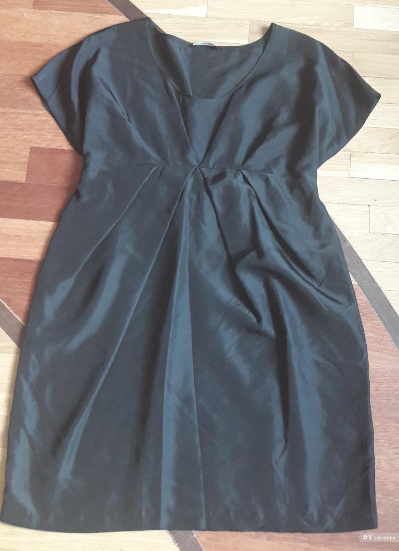 Шелковое платье Samsou&Samsou размер L