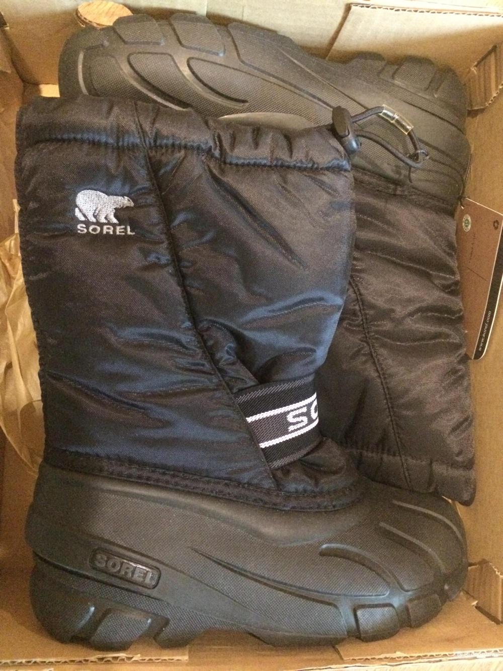 Зимние сапоги Sorel 34-35, 22 см.