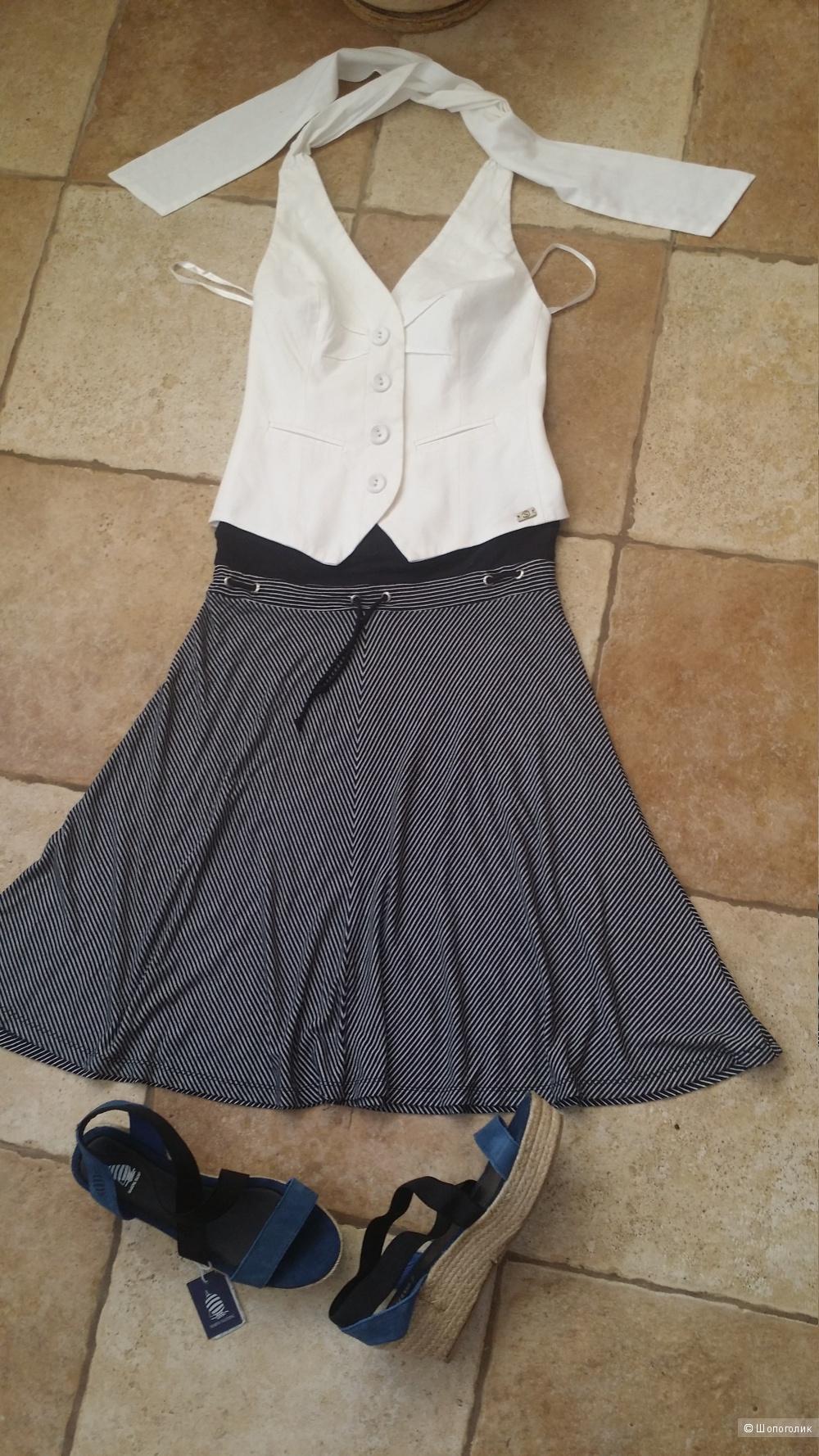 Сет из 3 вещей: юбка McGregor , топ и брюки Silver Creek, +- 44 размер