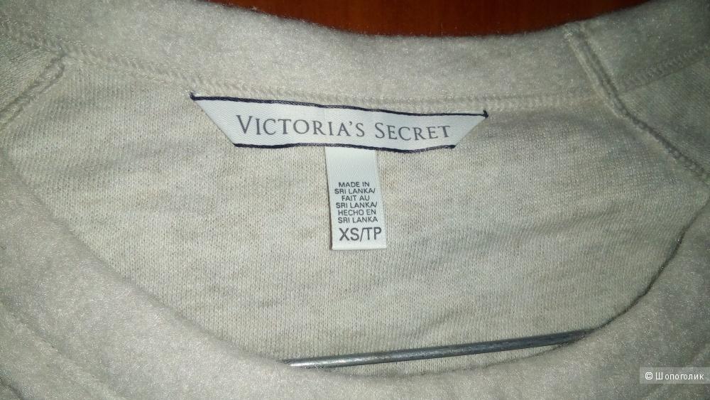 Платье-туника в спортивном стиле Victoria'a Secret размер XS цвет бежевый