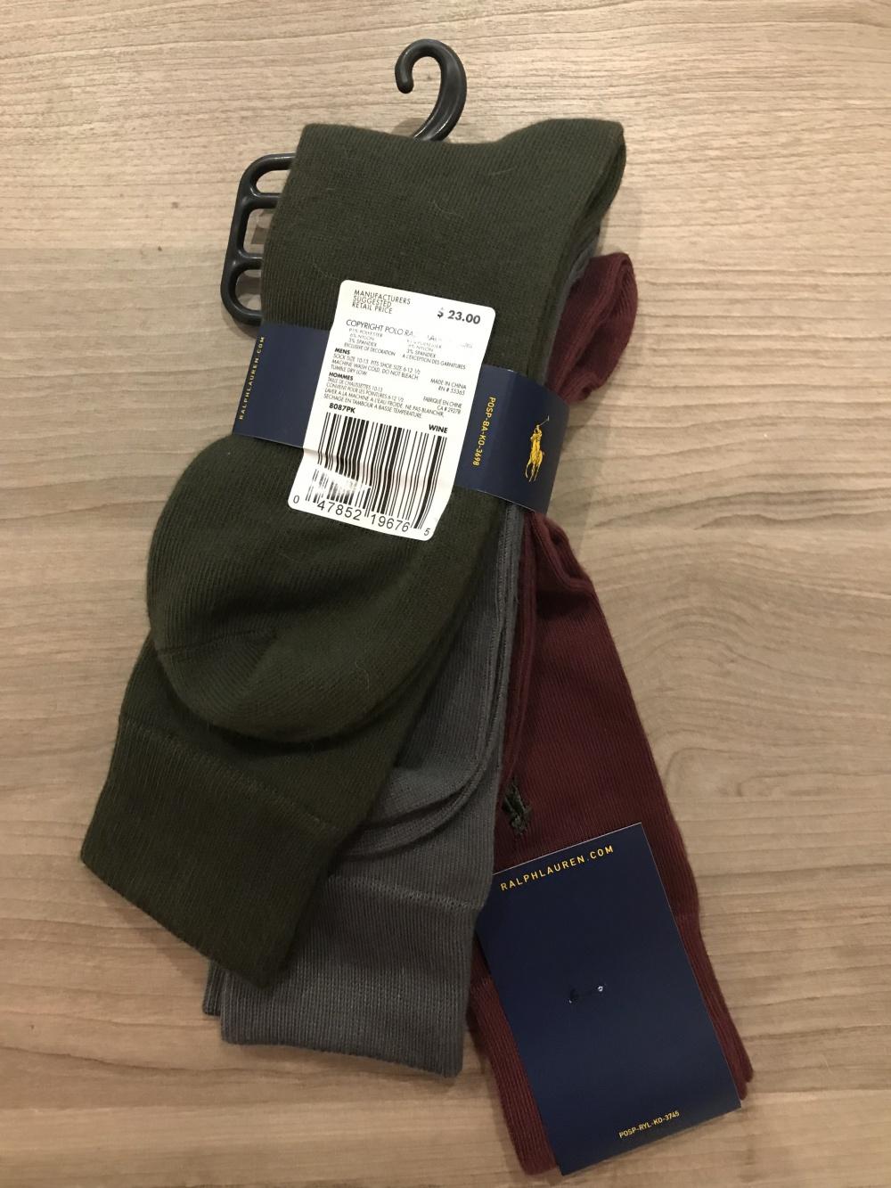 Носки Ralph Lauren, размер one size