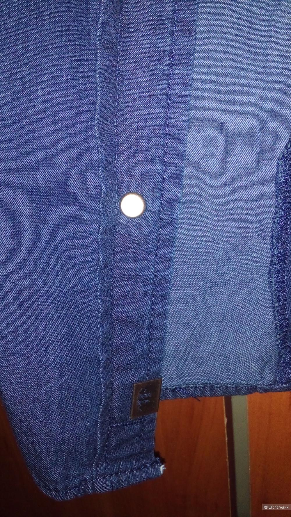Джинсовая рубашка C&A размер 38 евро на 44 русский