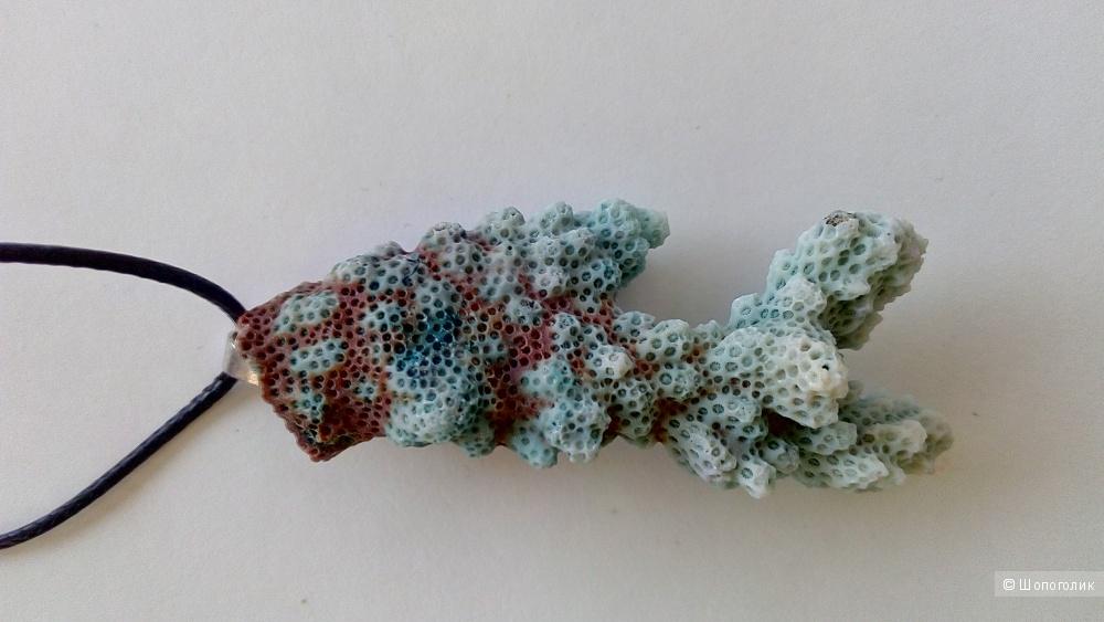 Подвеска веточка коралла, one size