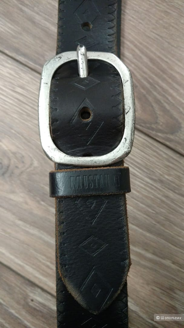 Кожаный ремень MUSTANG размер S