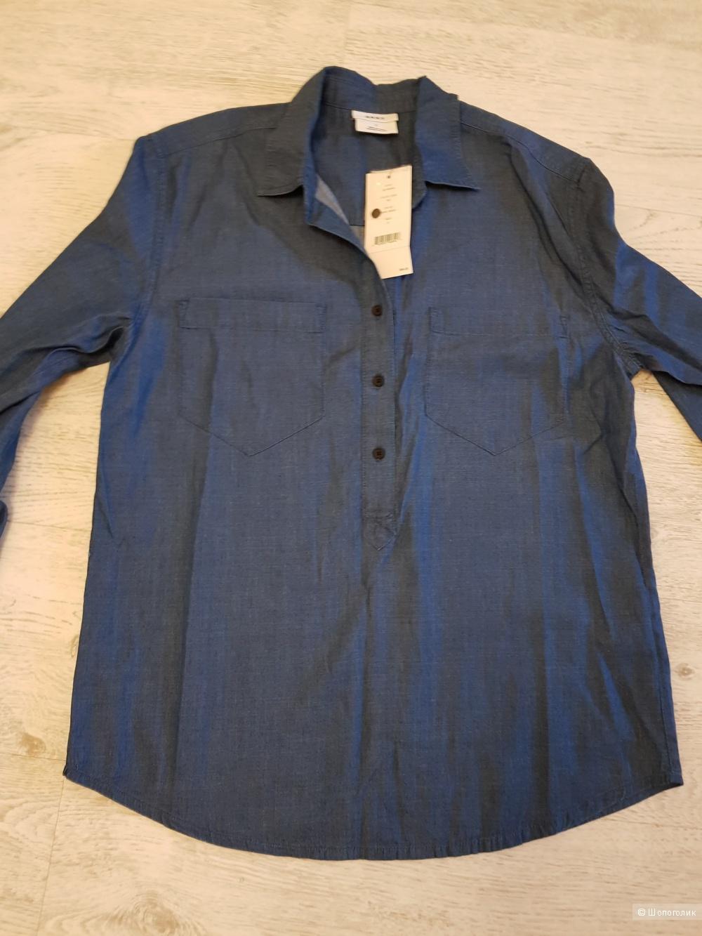 Джинсовая рубашка Dkny. Размер 46-50