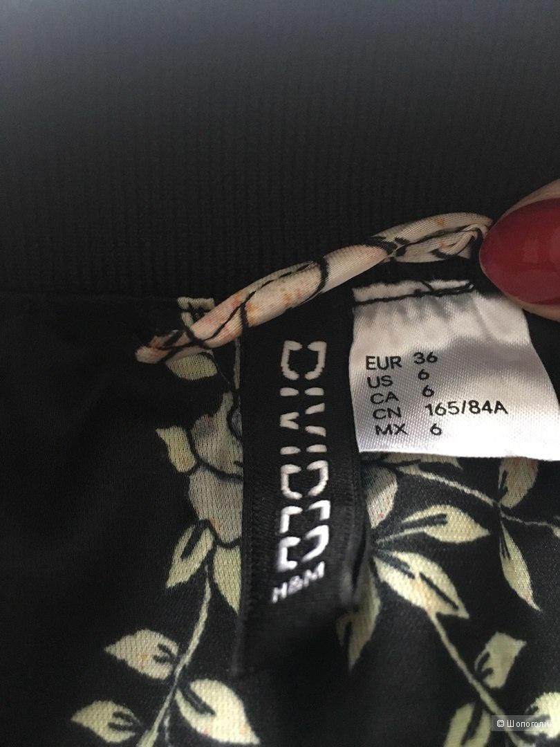 Бомбер атласный HM 36 евро