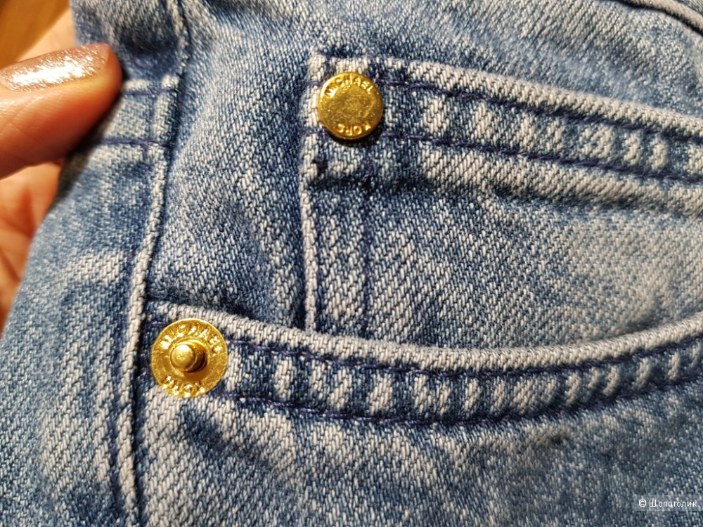 MICHAEL KORS женские джинсы с вышивкой р.44 (2 us)